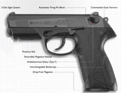 Beretta PX4 Storm FS .40 S&W 14rd Made in Italy 40 Layaway Available