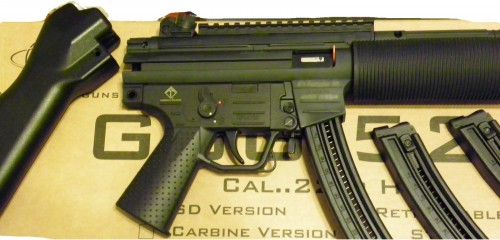 American Tactical GSG-522 SD Rifle  22 LR with THREE Mags
