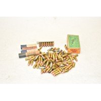 VARIOUS HANDGUN AMMO 9MM AND 38 BLACKPOWDER AND BB GUN PELLETS
