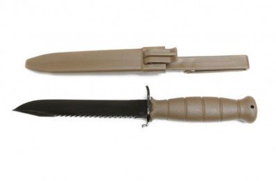 "**NEW** Glock Field Knife 81 FDE W/ Saw 6.00"" Blade Knife  **NEW** (FREE LAYAWAY AVAILABLE) **NEW**"