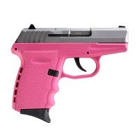 SCCY CPX-2 Pink Duo-Tone Stainless 9mm Pistol CPX2 Layaway Available