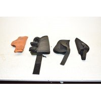 4 PISTOL HOLSTERS