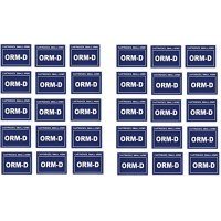 Small Arms Cartridge Labels ORM-D 2.5in X 2in Stickers Lot of 30 Required for Shipping Ammo