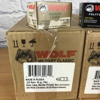 500 Rounds 223 Remington - Wolf Military Classic