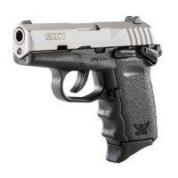 SCCY CPX-1 DuoTone Black/Stainless Satin 9mm Luger Pistol CPX1 Layaway Available