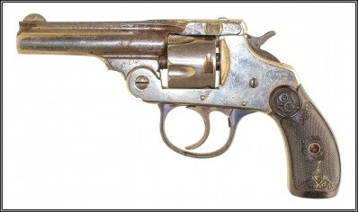 IVER JOHNSON TOP BREAK REVOLVER (32 SW)