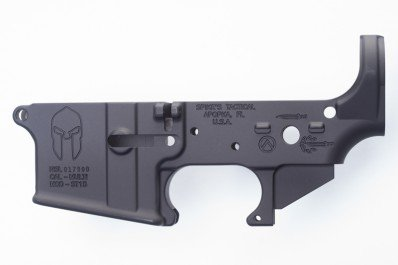 Spikes Tactical Lower (Multi) Forged Spartan- Custom Markings
