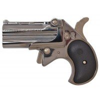 Cobra O/U Derringer .32 H&R Magnum Chrome w/Black Grips Layaway Available
