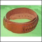 Longhorn Tan Rifle Belt