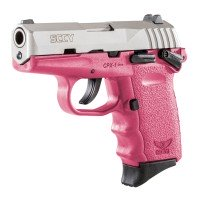 SCCY CPX-1 Pink 9mm Luger DuoTone Stainless Pistol CPX1 Layaway Available