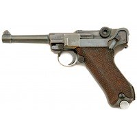 German P.08 Luger S/42 Pistol by Mauser