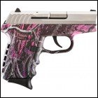SCCY CPX-2 Two-Tone Pistol Muddy Girl Pink Camo Stainless 9mm Luger CPX2 Layaway Available