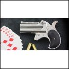Cobra .38 Special Big Bore O/U Derringer Chrome w/Black Grips 38 Spl Layaway Available