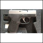 Kahr P380 Stainless Slide Polymer Frame 380ACP Night Sites Ships in 1Day