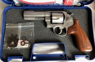 "Smith & Wesson M625 CHAMPION SERIES - JERRY MICULEK 6RD .45 ACP 4"" Revolver     Choose BUY NOW option and receive FREE SHIPPING and Insurance."