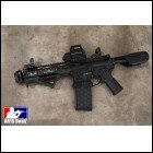 Custom AR15 Pistol Fully Decked Out AR-15 223 556 Noveske, Anderson, Raptor, Magpul, EOtech, Spikes tactical