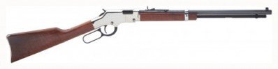 Henry Golden Boy Silver Lever-Action Rifle .22 LR / Long / Short Layaway Available