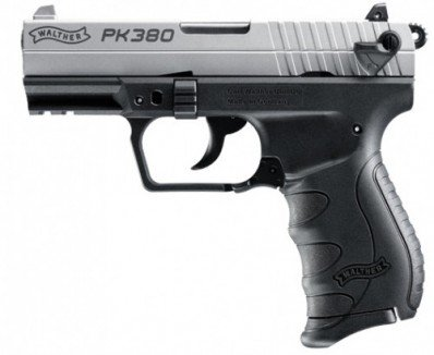 Walther PK380 .380 ACP Nickel Duo-Tone 380 Auto Layaway Available
